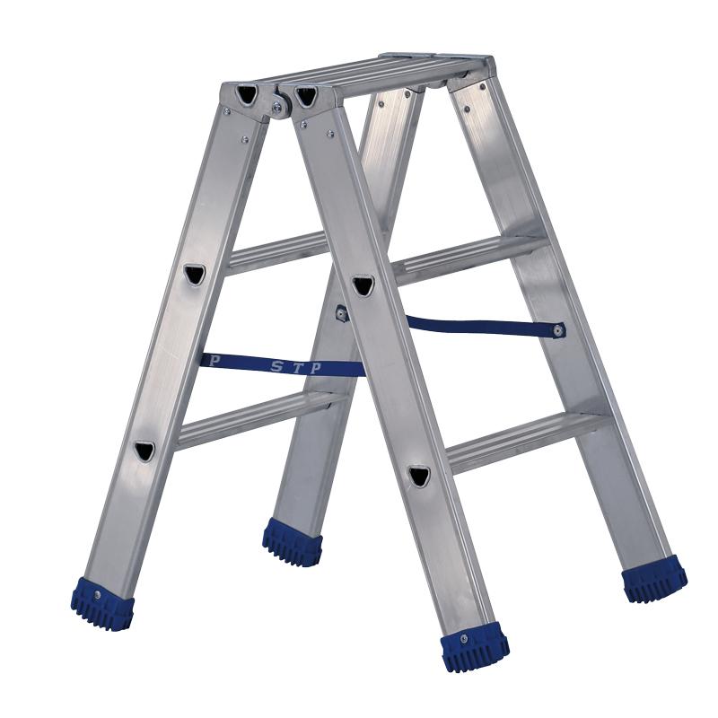 sgabelli professionali pieghevoli, con doppia salita e gradini antiscivolo